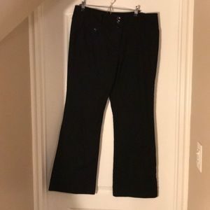 Black Le Chateau Dress Pants